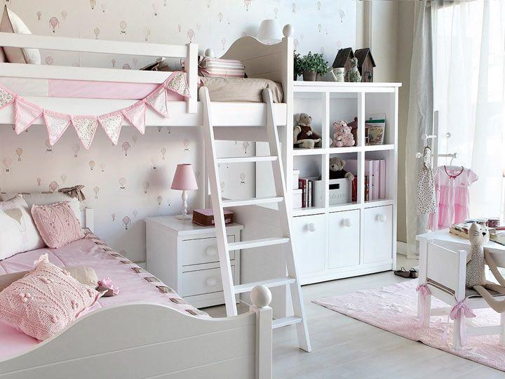 маленькая детская комната для девочек