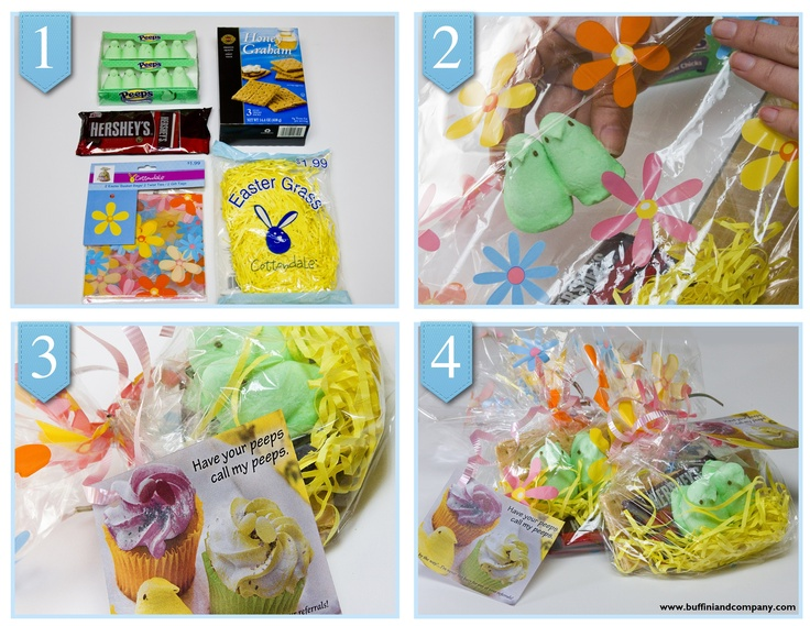 80 best gifts parties spring summer images on pinterest peep smores for a easter pop by gift negle Gallery