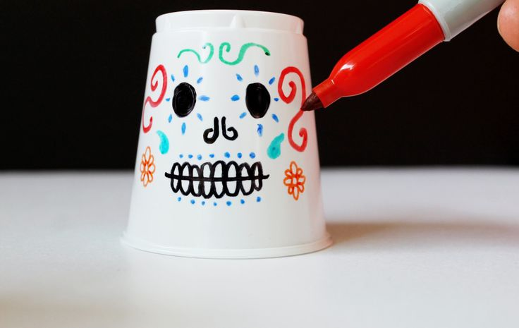 Dia de los Muertos Day of the Dead craft lanterns DIY