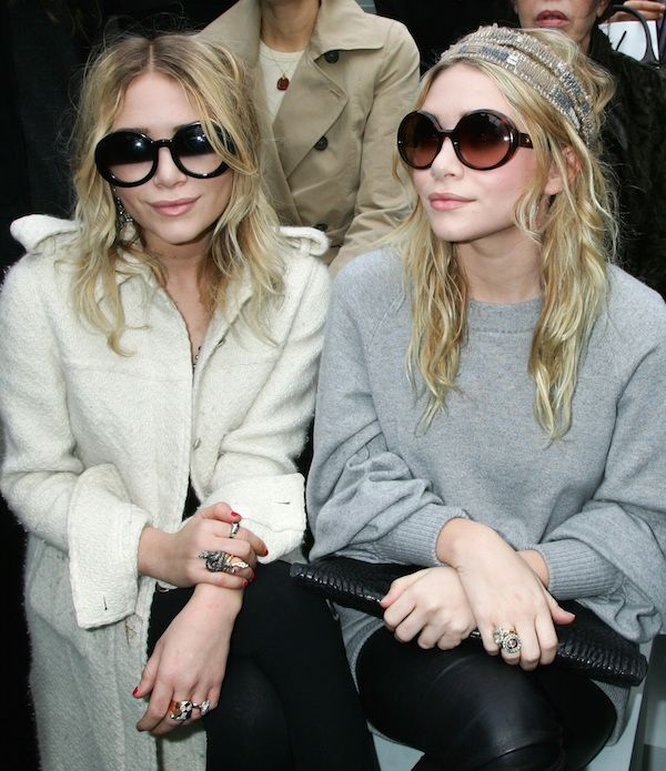 Mary-Kate and Ashley Olsen's style evolution video is a must see! #olsentwins #cosmopolitan #fashion
