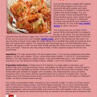 Flipsnack | Cheesy Unstuffed Pepper Casserole by Catalina Linkava