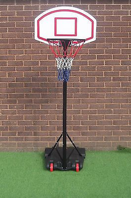 Free #standing basketball net hoop #backboard stand set #wheels portable adjustab,  View more on the LINK: http://www.zeppy.io/product/gb/2/141927545352/