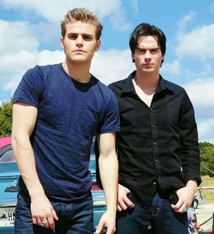 Os irmãos Salvatore.