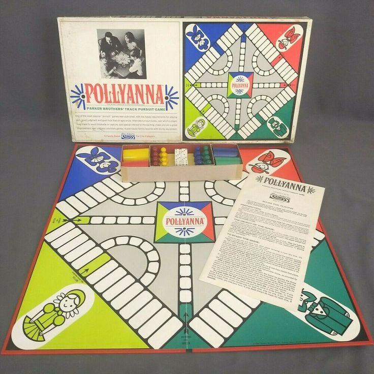 Vintage 1967 POLLYANNA Pursuit Board Game 98 Parker