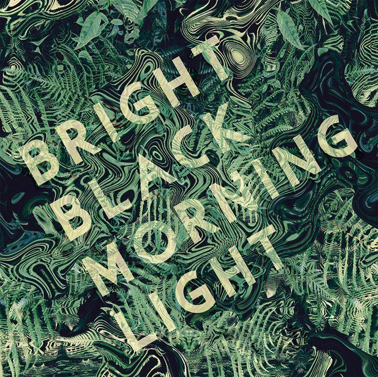 T Stenersen - Graphic Design - Digital Art, album cover, Brightblack Morning Light, nature, organic, abstract, green