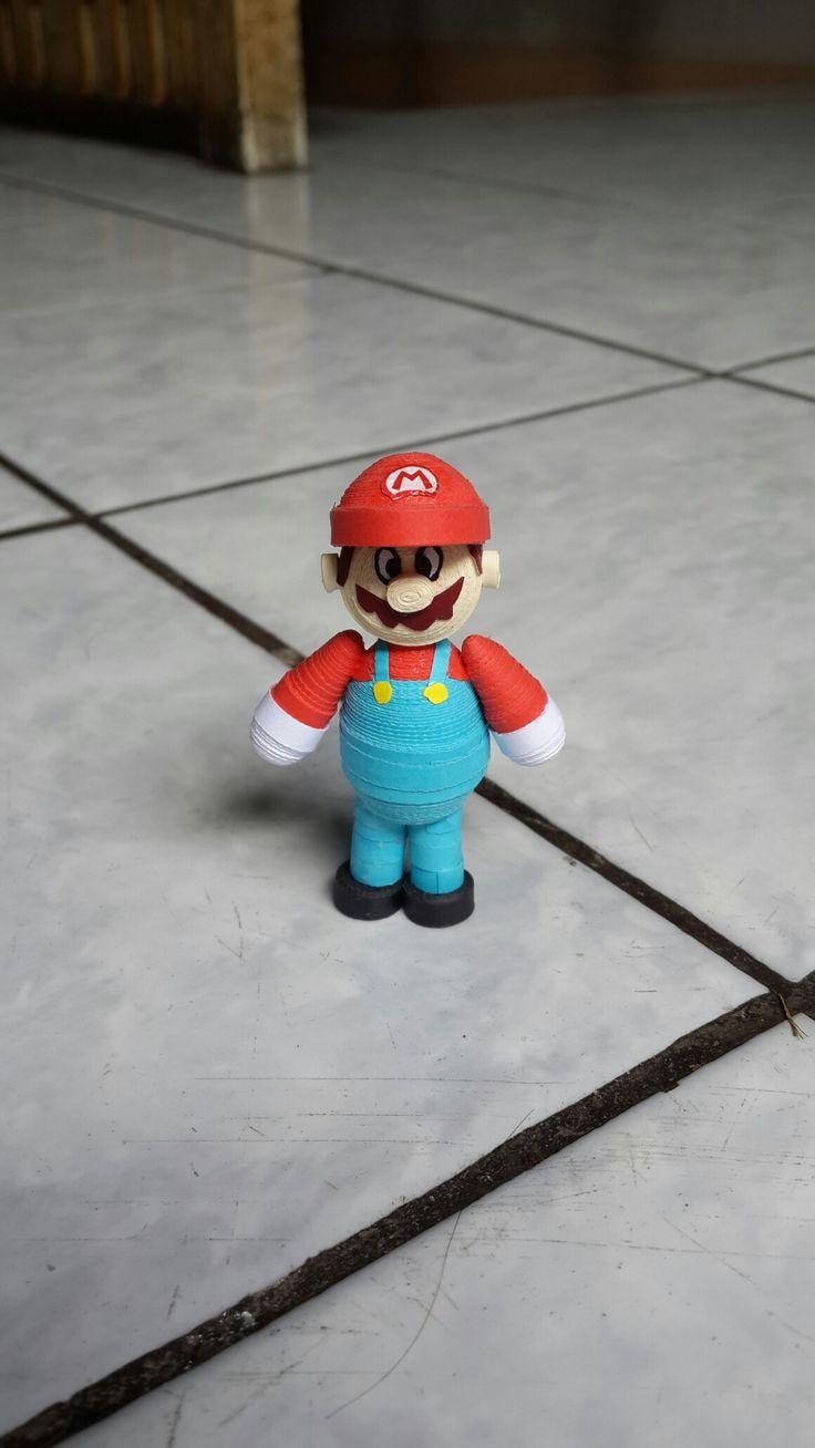 Mario bros quilling