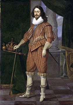 Doublet (clothing) - Wikipedia, the free encyclopedia Charles I in the doublet and breeches fastened with points of 1629, by Daniel Mijtens the Elder.