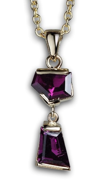 One-of-a-kind Rhodolite Garnet Necklace