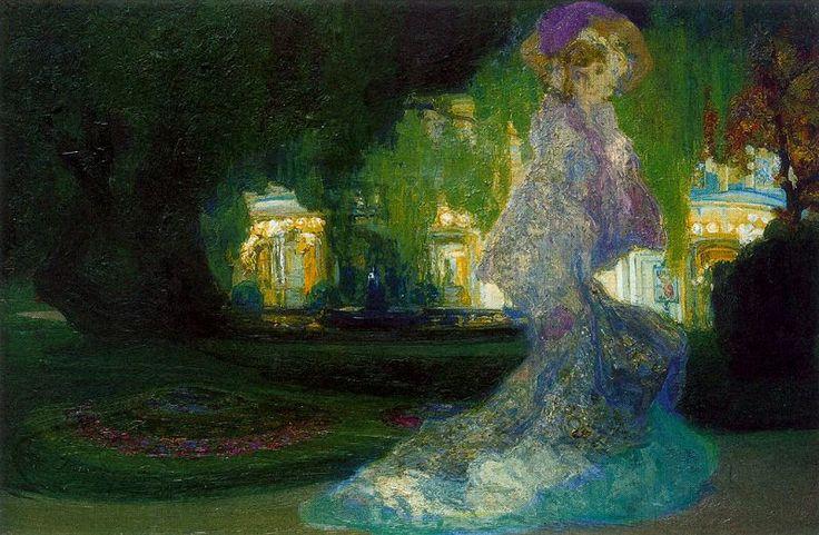 Hermenegildo Anglada Camarasa (Barcelona, 1871-1959) ~ Ver luisiant. 1904
