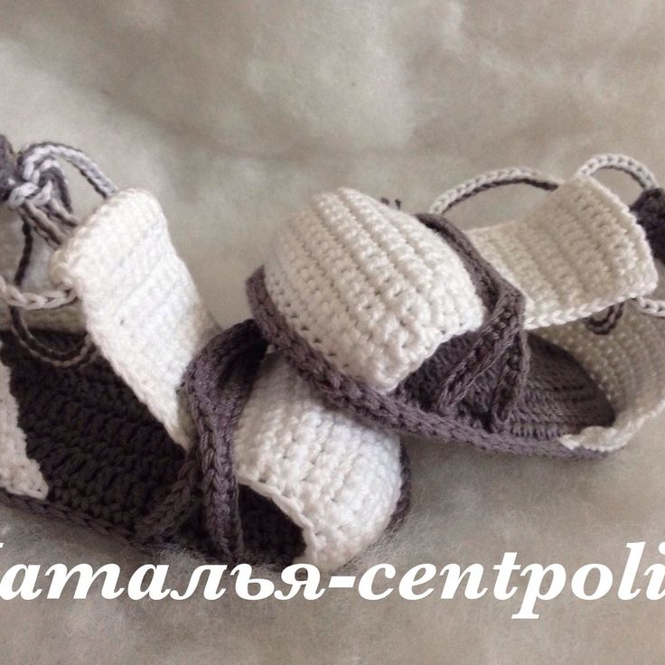 Купить Сандалии летние, сандалики - серый, однотонный, пинетки, пинетки для новорожденных, пинетки в подарок