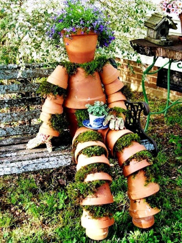 Special DIY No Human on your garden