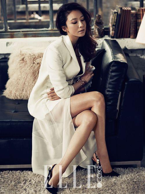 Kim Hee-Ae: Elle Magazine
