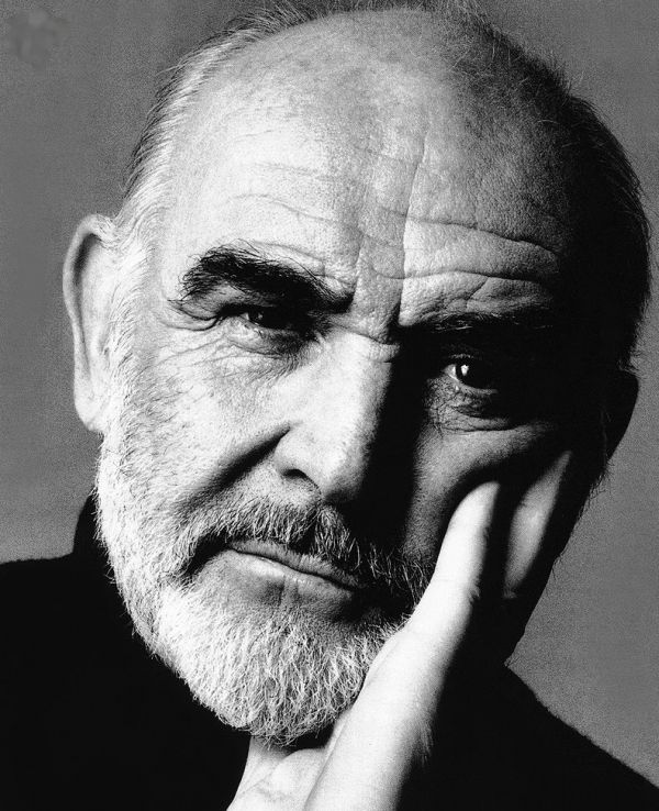 Sean Connery. The older, the better.