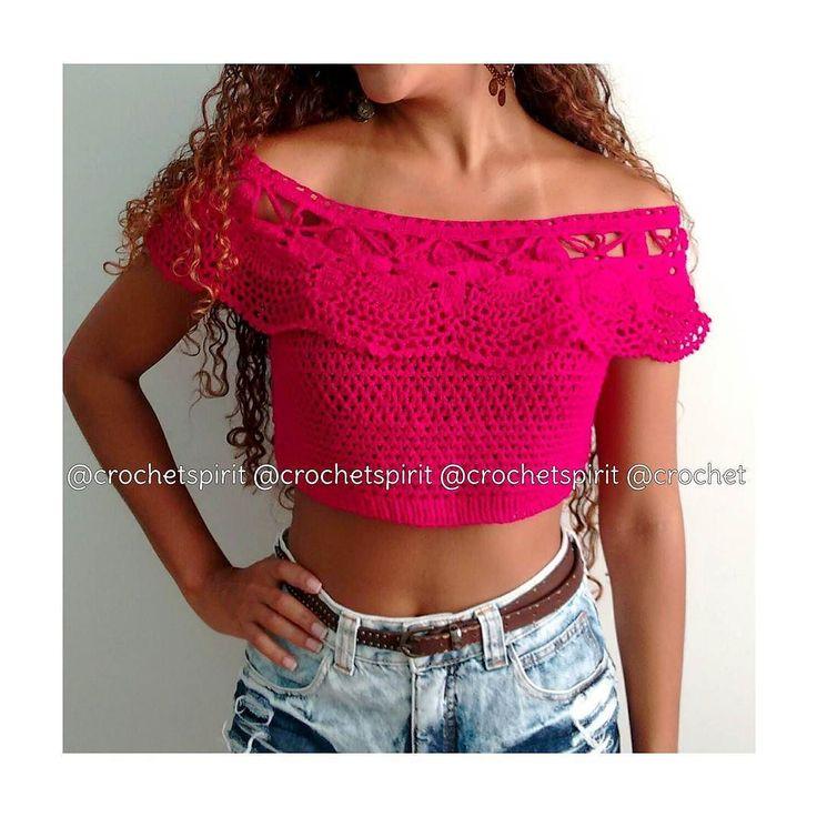 Ciganinha paixãozinha!  Pronta entrega 8900.  #crochetspirit #freespirit #crochet #boho #bohemian #gypsy #handmade #croche #mermaid #summer #verao #ootd #ciganinha #crochettop #cropped #mermaidlife #gypsysoul #musthave #vilavelha #vix by crochetspirit