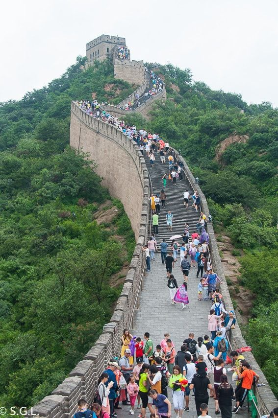 Badaling Y La Gran Muralla China La Gran Muralla China Muralla China La Gran Muralla