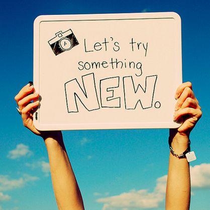 #30daychallenge Try Something New Everyday