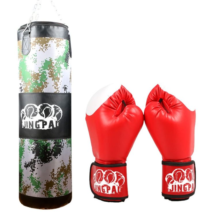 43.69$  Watch here - http://aligs4.worldwells.pw/go.php?t=32655493024 - New Training Fitness MMA Boxing muay thai Bag Hook Hanging saco de boxe Kick Fight Sand Punch Punching Bag and a gloves one set