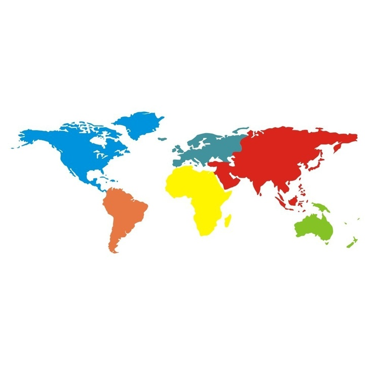A World Wall Map