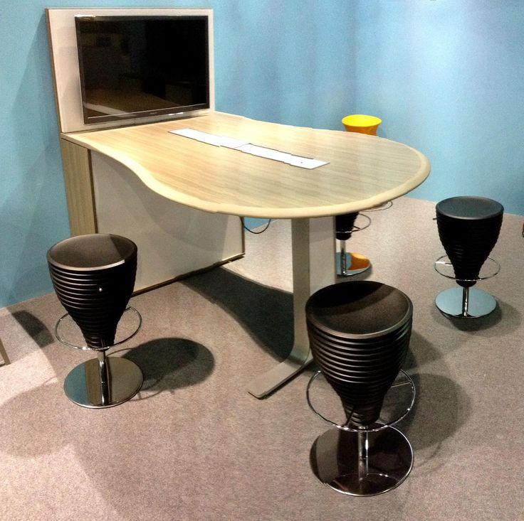 Stand IBEBI in Index-Workspace in Dubai #index #dubai #ibebi #bongostools #stools #stool #mediatable