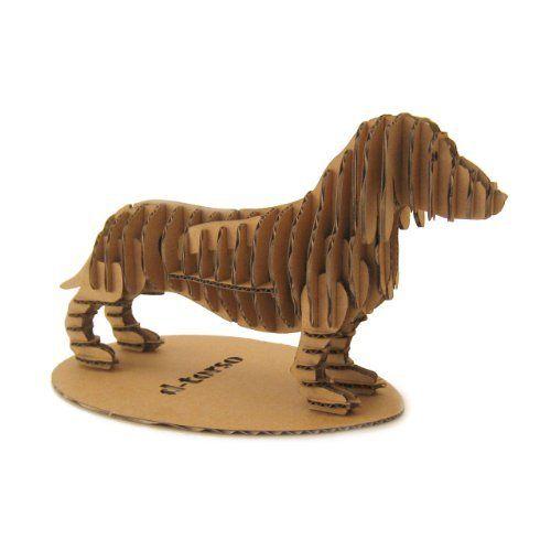 Dachshund 3d Laser Cut Minature Cardboard Kit by d-torso, http://www.amazon.com/dp/B004V6N89O/ref=cm_sw_r_pi_dp_tlgwrb1QKSVXH