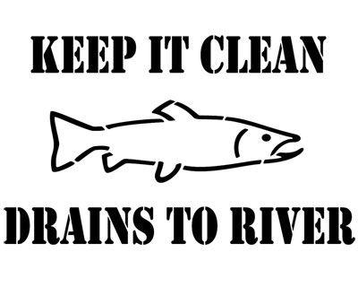 stencil art fish - Google Search
