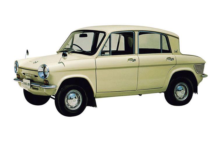 60年代の日本車が人気だ ナイフのようなクルマが欲しい スバル360 マツダ マツダ キャロル