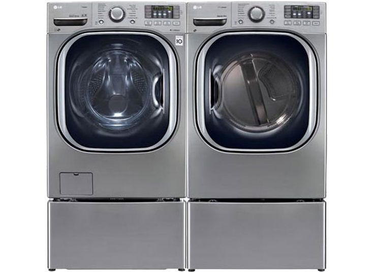 The Best Matching Washers and Dryers - Consumer Reports LG WM4270HWA front-loader and LG DLEX4270W electric dryer