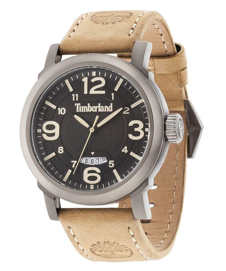 Timberland horloge Berkshire 14815JSU/02. Mooi en stoer horloge. De kast heeft een donker zilveren kleur en de wijzerplaat is nagenoeg zwart. Dit horloge heeft een afwijkende datumaanduiding. Het horloge is tot 50 meter waterdicht en u heeft 2 jaar garantie op het uurwerk. https://www.timefortrends.nl/horloges/timberland.html