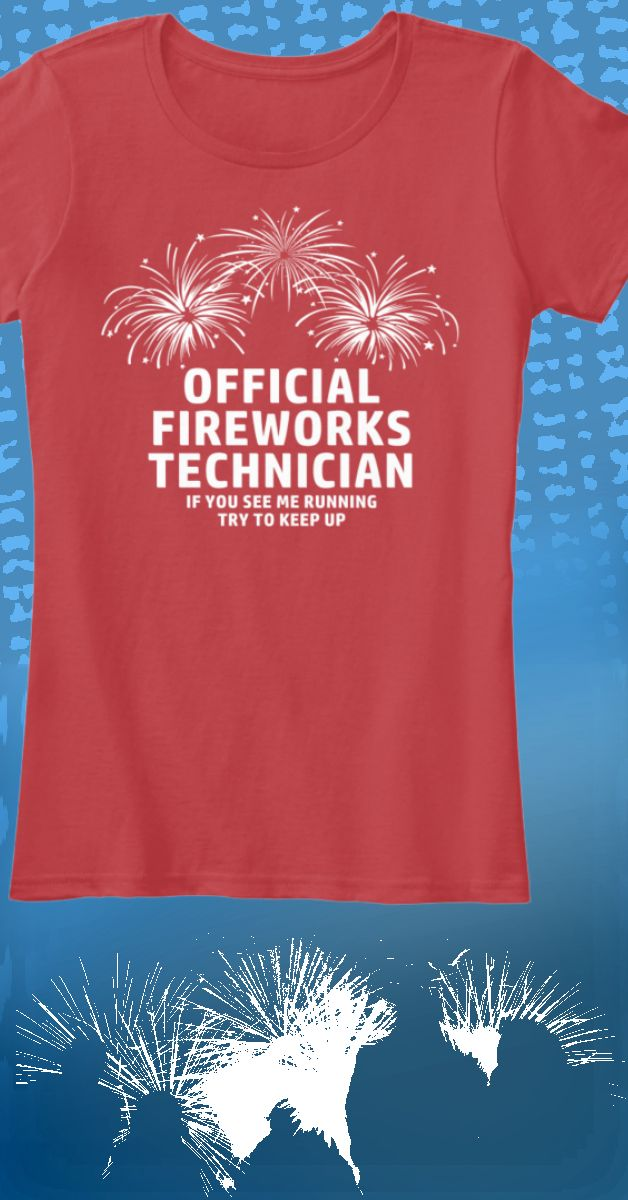 Perfect for when lighting off fireworks with the kids! New limited edition t-shirts available for just a short time. Click image to purchase.