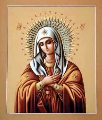 0437 Икона Божией матери Умиление
