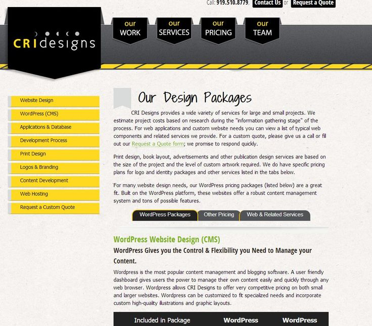 How To Quote A Website 30 Best Website Packages Images On Pinterest  Website Design Web