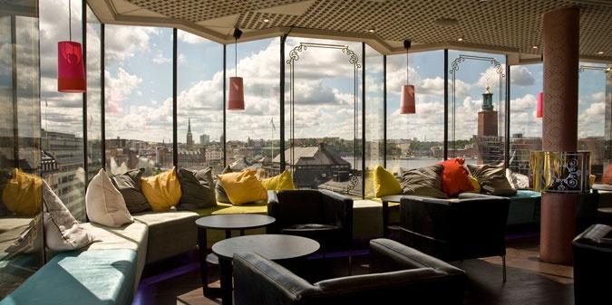 Photo: Radisson Blu. Stockholm bars with a view.