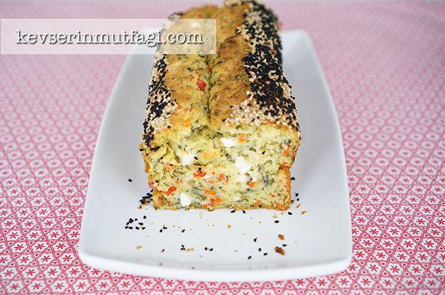 Sebzeli Kahvaltı Keki Tarifi - Kevser'in Mutfağı - Yemek Tarifleri