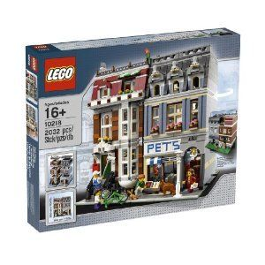 Complete-Lego-Creator-Pet-Shop-10218-With-Detailed-Ground-Floor-Accessories-And-Spiral-Staircase