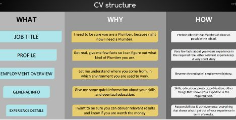 Working in Denmark: The CV structure - The Local
