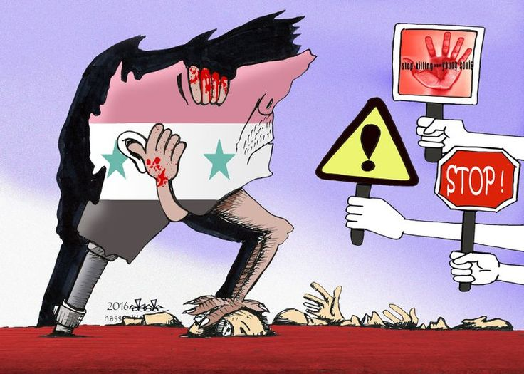 Hassan Bleibel  (2016-11-17) Syrie:  SYRIA CRISIS - TOTAL IGNORANCE,,,,