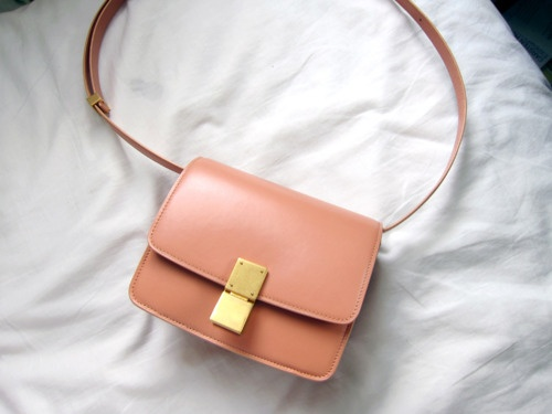 My new baby, Celine Small Box Bag in Blush | Style | Pinterest ...