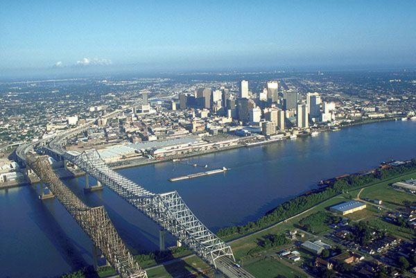Skyline New Orleans - Vé máy bay đi New Orleans