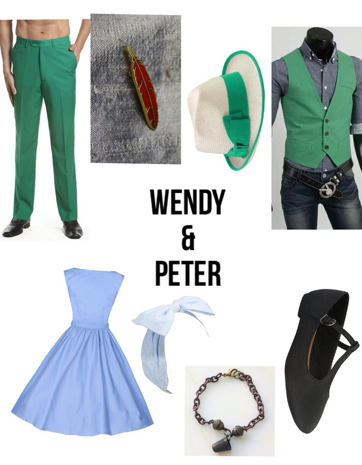 Disneybound: Dapper Day Peter Pan & Wendy