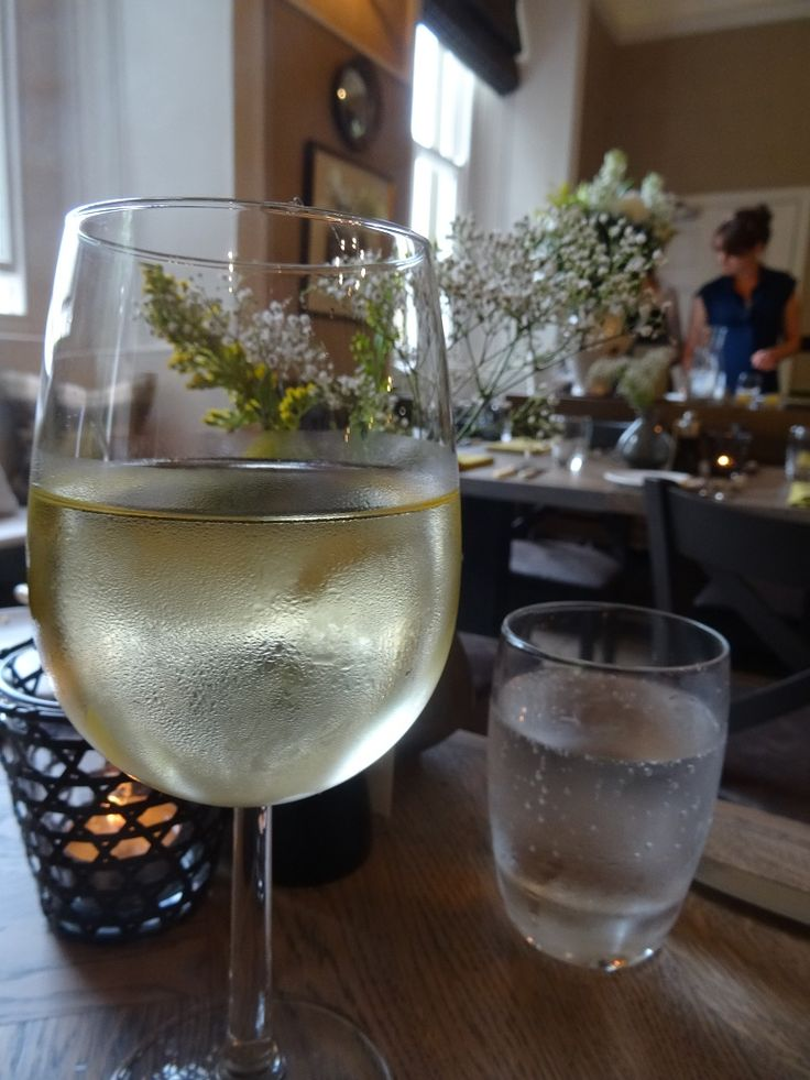 A Glass Of Good White