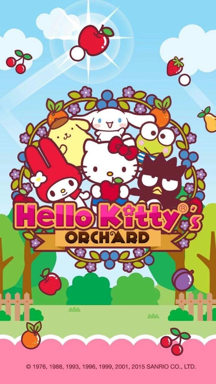 Wallpaper iphone keroppi - Hello Kitty Sanrio Characters Kawaii
