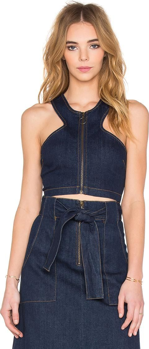 Designed by Julia Ritorto, Finders Keepers has created the ultimate young fashion forward womenswear label aimed at designer conscious consumers at affordable prices and has quickly become a favorite for Hollywood celebrities. #FindersKeepers #Blue #Crop #RevolveClothing #Women #fashion #obsessory #fashion #lifestyle #style #myobsession