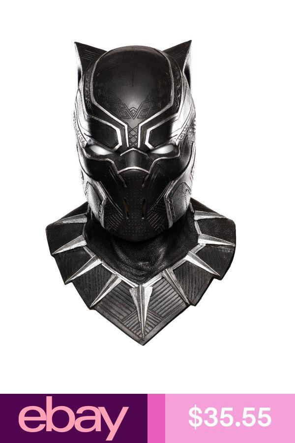 Rubies Costume Masks Clothing, Shoes & Accessories - Black panther marvel, Black panther costume ...