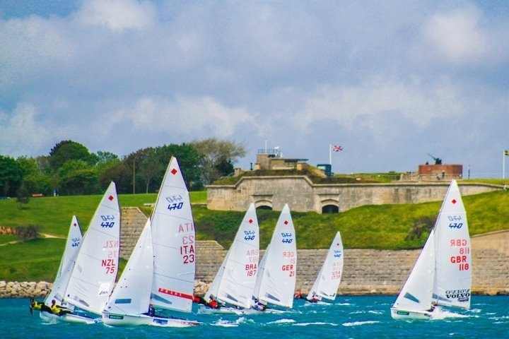 More sailing at the Olympic venue #weymouth #London2012