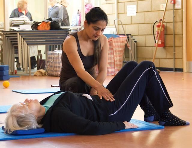 There is a traditional order to the Pilates mat exercises. Here are the first 10 exercises of a classical Pilates mat exercise workout.