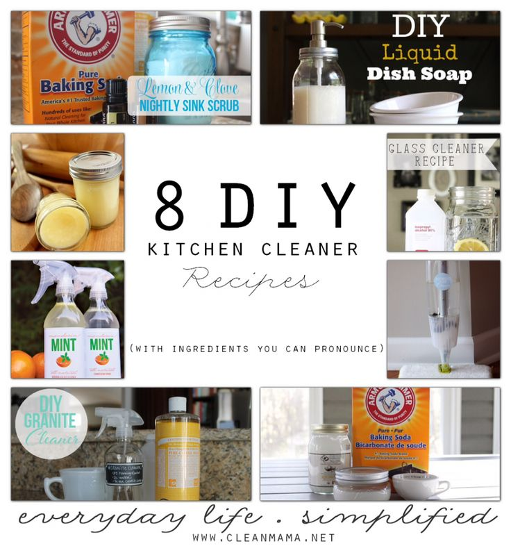 "It's no secret that I love making and using DIY natural cleaners (heck, I wrote a book about them!) so today I thought it would be fun to round up some natural kitchen cleaners that you""ll love! These recipes cover the kitchen sink, cutting boards, hardwood floors, and beyond – get ready to scrub up... (read more...)"