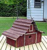 Large Rustic Bird Houses | barn bird houses