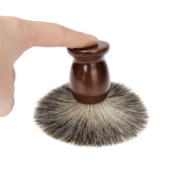 2017 shaving brush ZY 2PCS/Set Wet Shaving Badger Brush Classic Wood Bowl Mug Men Shave Tool shaving brush