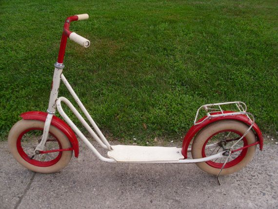 Vintage Ebben Kick Scooter by 4TheLoveOfVintage on Etsy