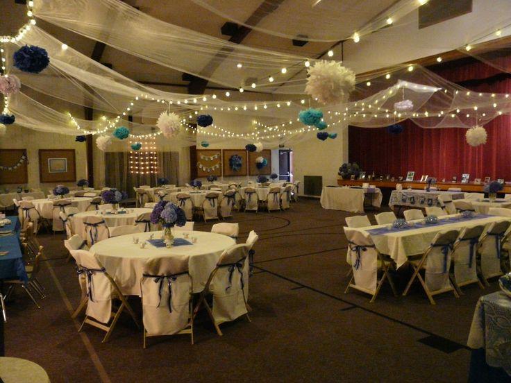 Best 43 church decorations ideas images on pinterest craft wedding reception lds cultural hall junglespirit Choice Image